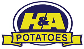 H & A Potatoes logo