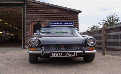 car restored