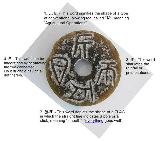 Jade disc artifact