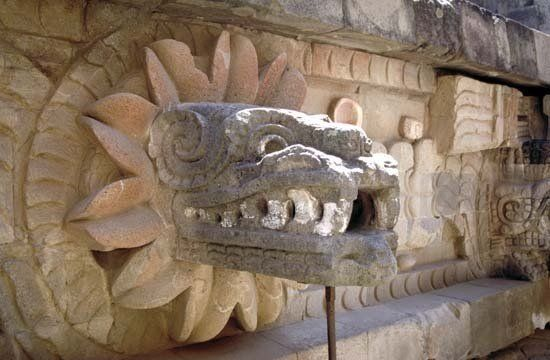 Quetzalcoatl, Image:britanica.com