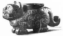 Model tiger in ceramics, Chavin culture