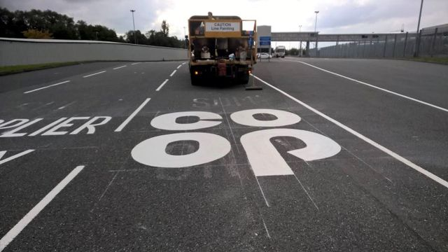 bespoke thermoplastic road markings