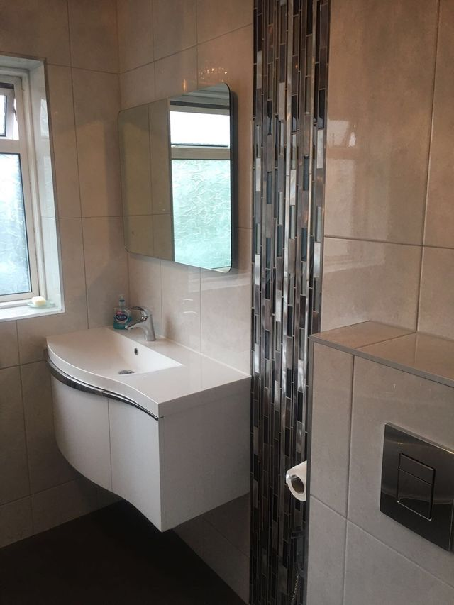 New bathrooms built by experts in Hayes