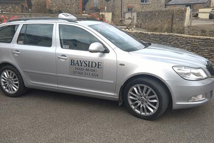 Bayside Taxi (Bude) car