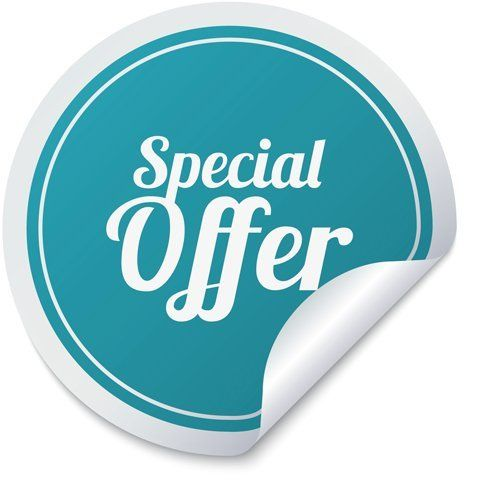 10% off initial booking
