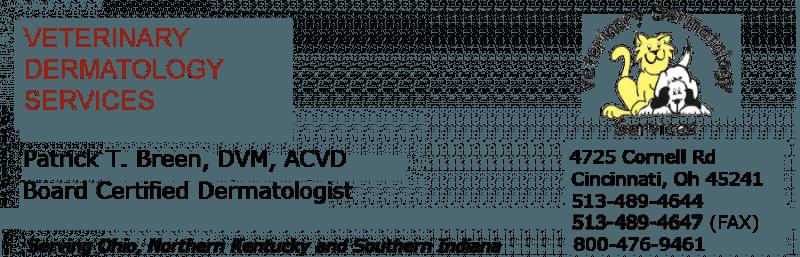 Veterinary Dermatologist Cincinnati, OH - Patrick T  Breen DVM