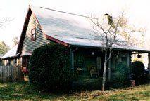 Kuhn home, before corn blasting