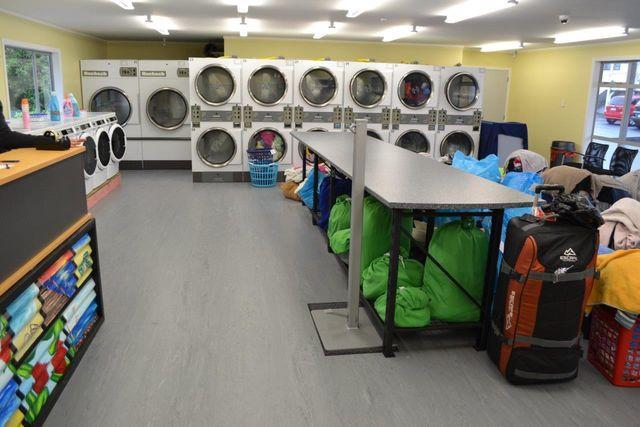 laundry machines at Mrs Wash