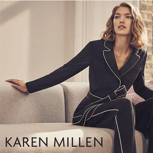 Karen Millen at Tynwald Mills  Spring 2017