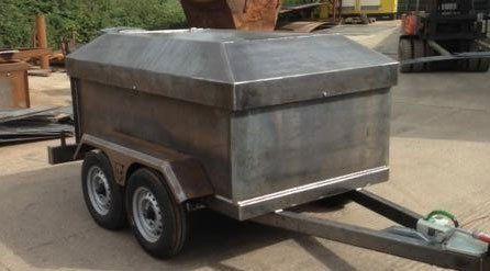 Structural trailer
