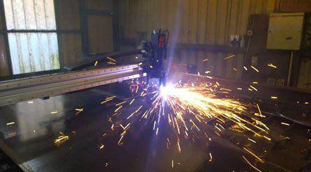 high speed plasma cutting