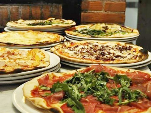 Menù con pizze sfiziose