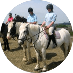 Off-road horse riding