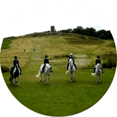 Horse riding hacks