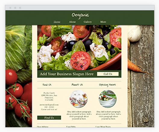 foodcart website design