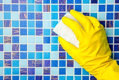 pulizia di mosaico