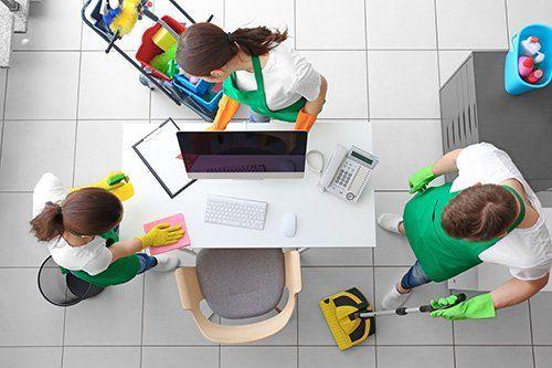 pulizia di uffici