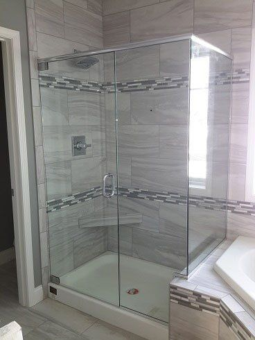 Transparent Glass Shower Enclosure U2014 Shower Glass In Paxton, IL