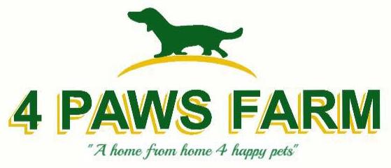 4 Paws Farm logo