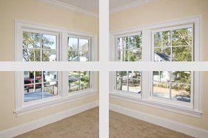 Energy-efficient windows installations