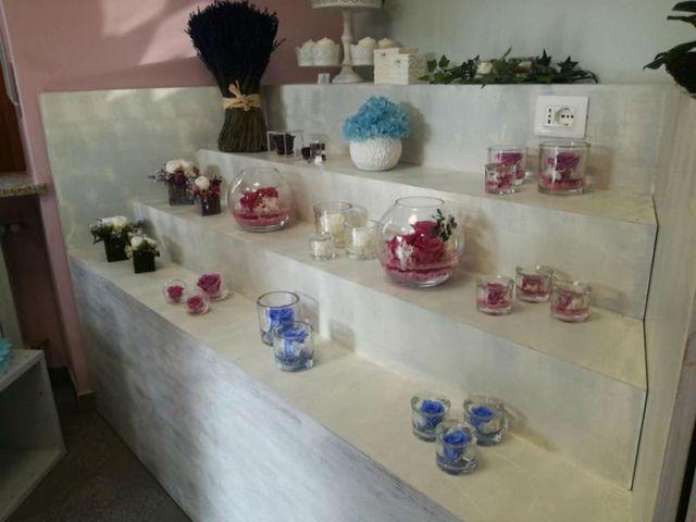 bomboniere fatte a mano, in cristallo o in vetro, profumate con fiori secchi , disidrati o candele