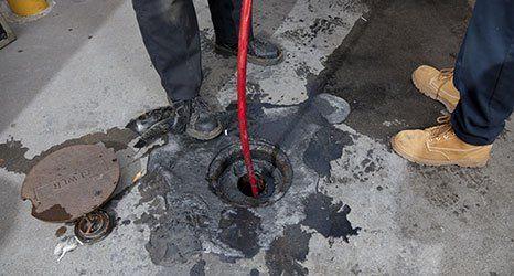 Unblocking of drains