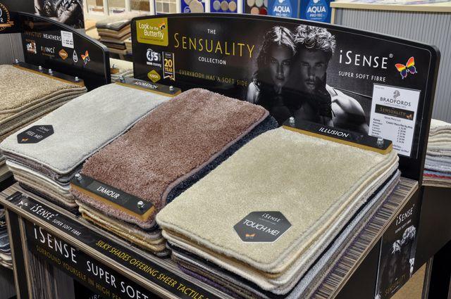 several carpets