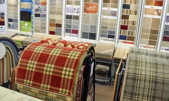 a wide range of carpets