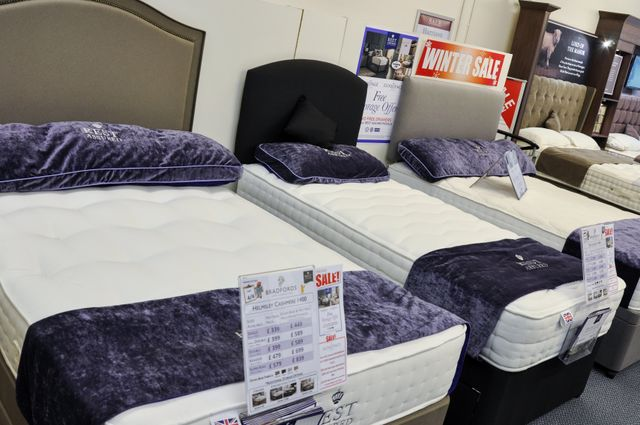 different types of mattresses and beds