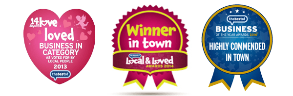 Winner in town accreditations