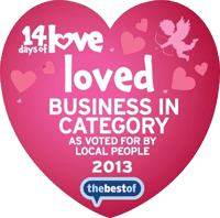 loved BUSINESS IN CATEGORY logo