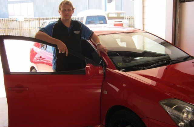 A collision repairs specialist