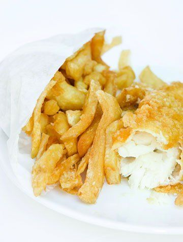 Fish and chips - Totterdown, Bristol - Farrows Fish and Chips - Fish