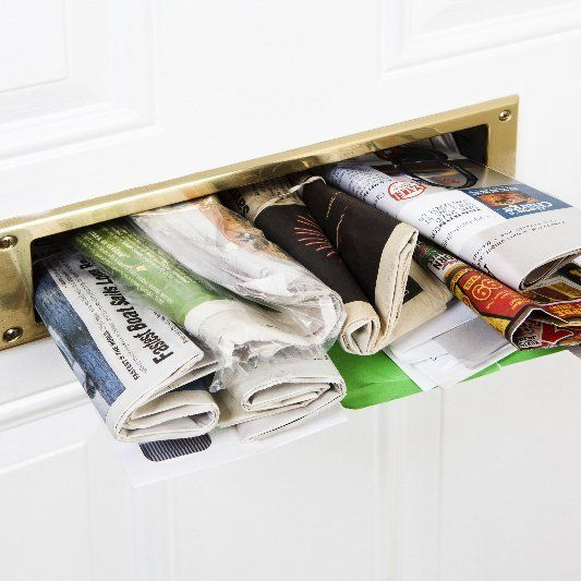 newspaper and magazine delivery company