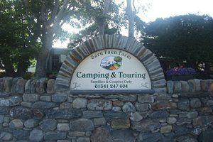 Sarn Faen Farm campsite
