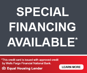 Speical Financing Available