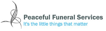 peaceful funeral services logo