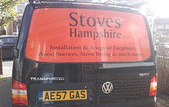 Stoves Hampshire company van