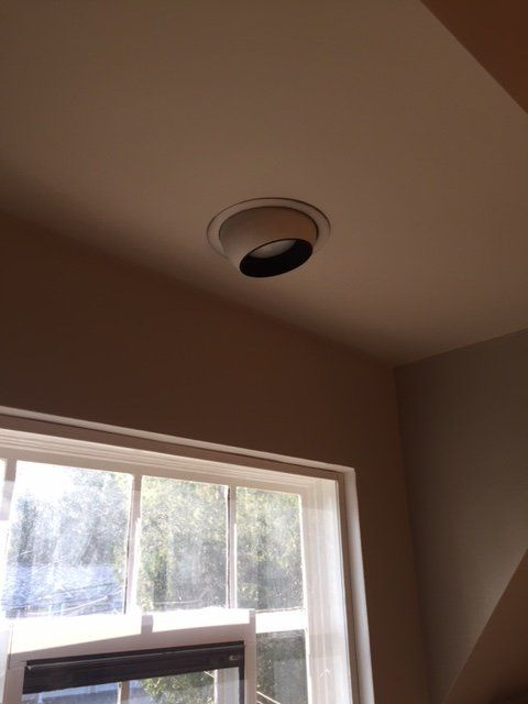 One Room Challenge - LWI Project Angel Wings- Week 4 How To Install Pot Lights In Unfinished Bat on