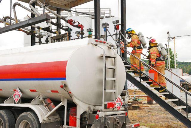 An emergency spill response in Dothan, AL