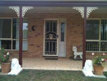 decorated front door