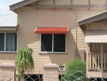 pacific awning on front of house