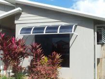 window with sunorama awning