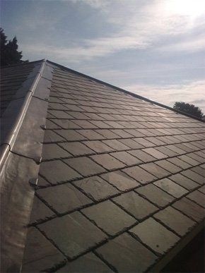 Grey tiled roof