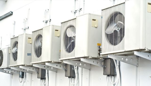 air conditioner exhaust fans