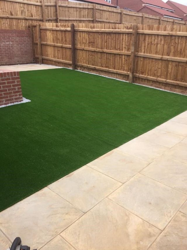 artificial lawn hull