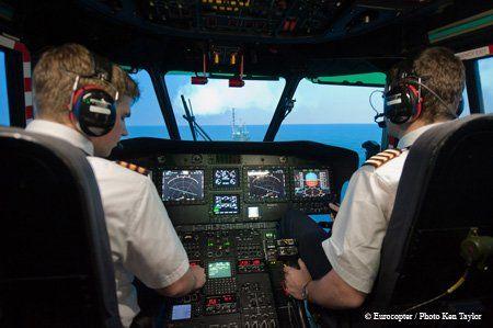 EC225 Cockpit
