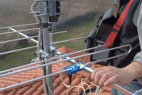voltaggio di un'antenna
