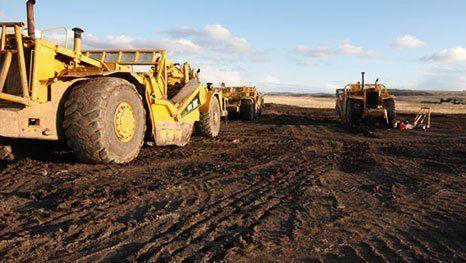 Bulk excavation works