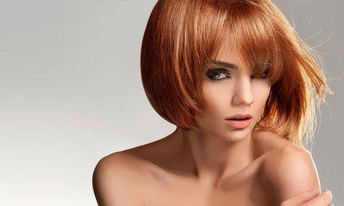 hair with a stylish twist